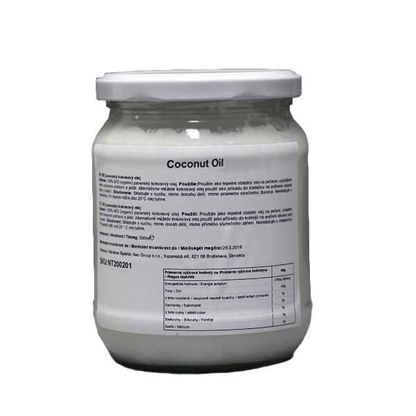 nu3tion Kokosový olej bez vône 500ml