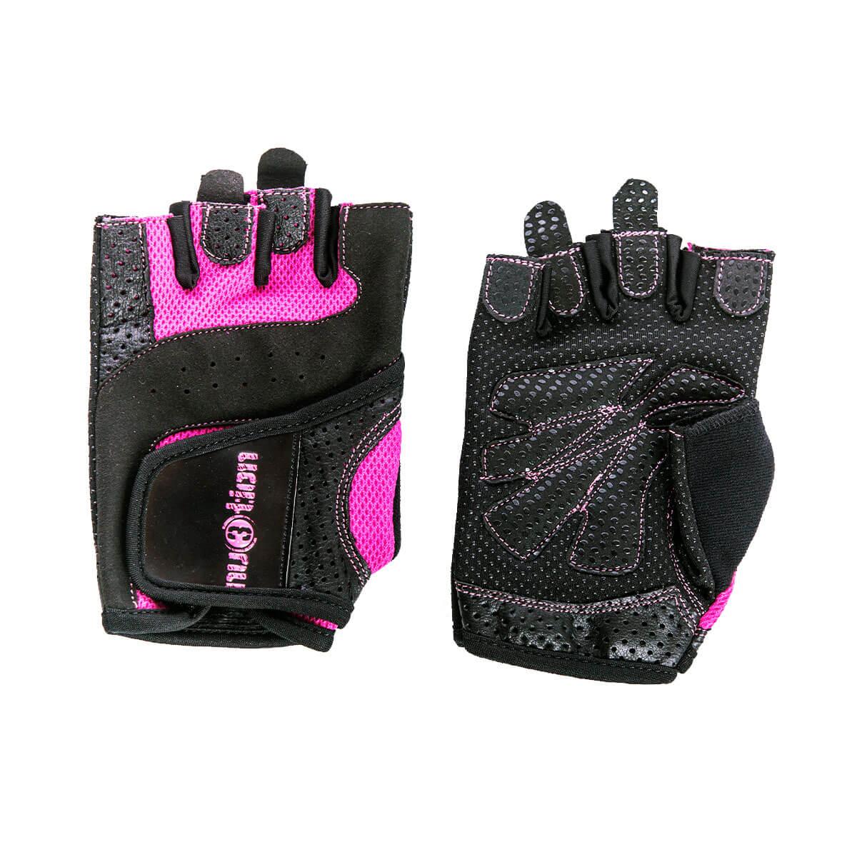 nu3tion Fitness rukavice dámske ružové S