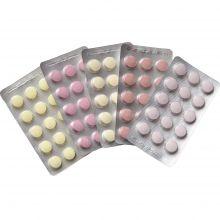 Príchuťové tablety do proteínov nu3tion