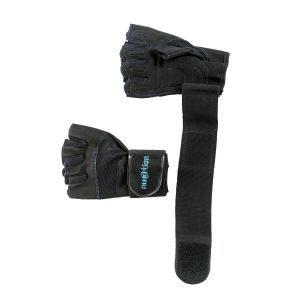 Fitness rukavice nu3tion pánske čierne